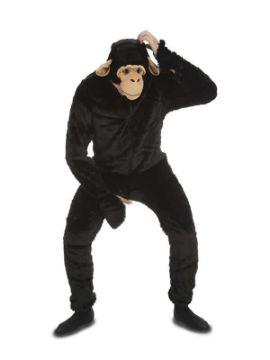 disfraz de mono chimpance para adulto