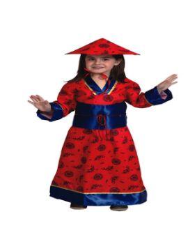 disfraz de china mandarin niña