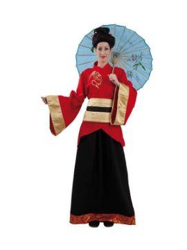 disfraz de china oriental clasica mujer