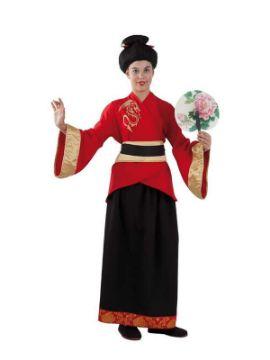 disfraz de china oriental clasica niña