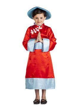 disfraz de china oriental niña