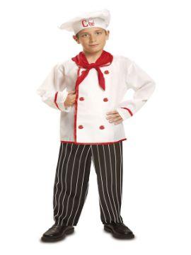 disfraz de cocinero chef niño