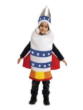 disfraz de cohete para niño