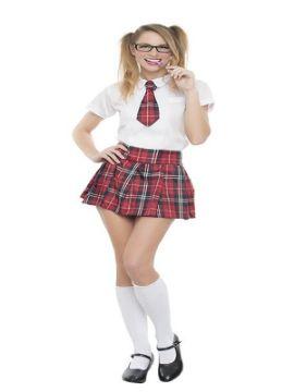 disfraz de colegiala sexy mujer