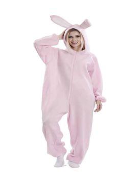 disfraz de conejo rosa mujer