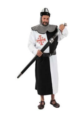 disfraz de cruzado medieval talla grande hombre