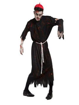 disfraz de cura zombie para hombre