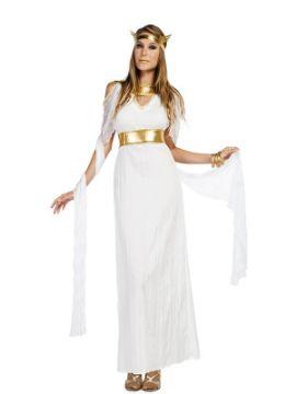 disfraz de diosa largo para mujer