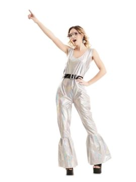 disfraz de disco deslumbrante para mujer