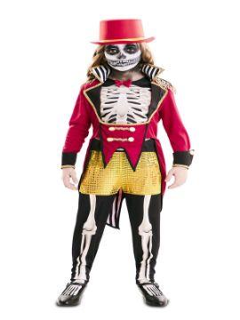 disfraz de domadora esqueleto para niña