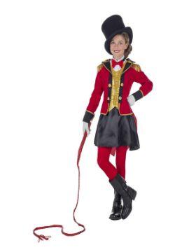 disfraz de domadora presentadora para niña