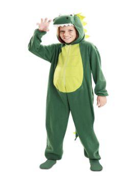 disfraz de dragon verde para niño