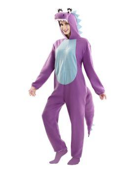 disfraz de dragona morada para mujer