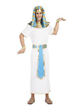 disfraz de egipcio azul hombre
