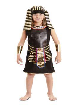 disfraz de egipcio marron para niño