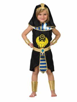 disfraz de egipcio negro para niño