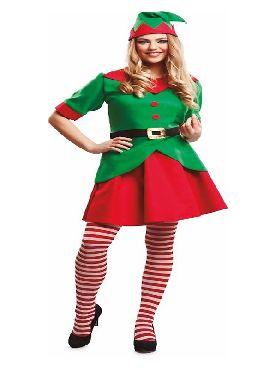 disfraz de elfa divertida para mujer