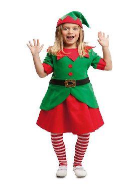 disfraz de elfa divertida para niña