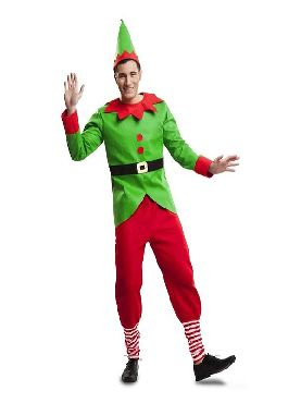 disfraz de elfo divertido para hombre