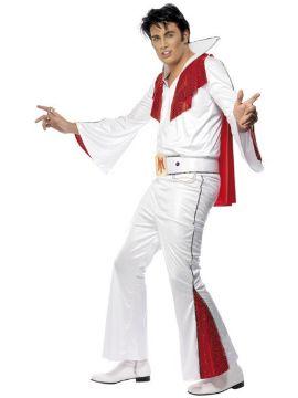 disfraz de elvis autentico con capa para hombre