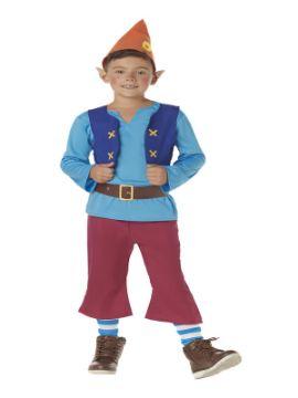disfraz de enanito azul para infantil