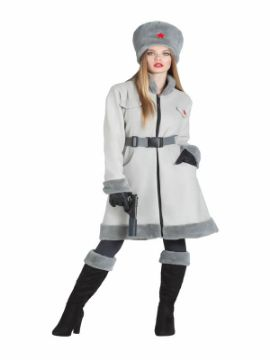 disfraz de espia ruso para mujer