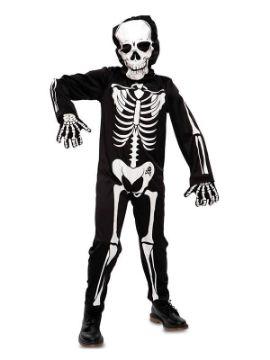 disfraz de esqueleto barato para niño