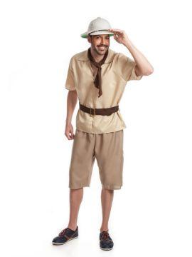 disfraz de explorador hombre