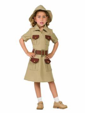 disfraz de exploradora para niña