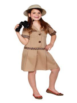 disfraz de exploradora safari niña