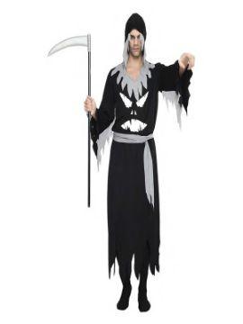 disfraz de fantasma negro hombre