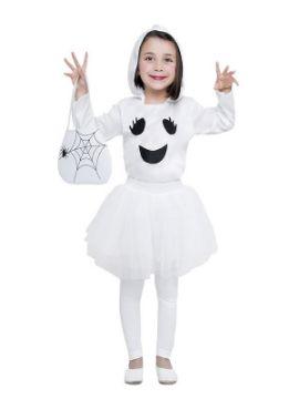 disfraz de fantasma tutu para niña
