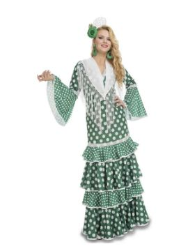 disfraz de flamenca giralda verde mujer