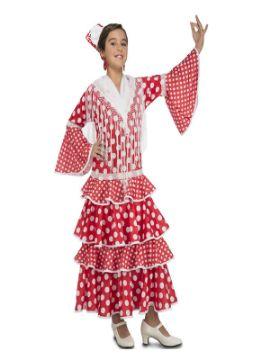 disfraz de flamenca sevillana niña