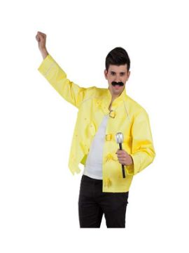 disfraz de freddie mercury chaqueta hombre