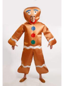 disfraz de galleta de jengibre para adulto