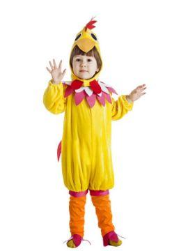 disfraz de gallina amarilla infantil k1225