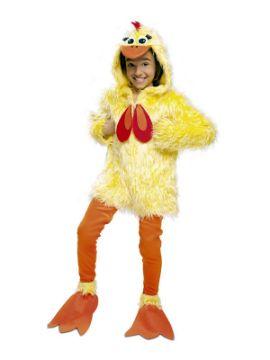 disfraz de gallina deluxe para niña