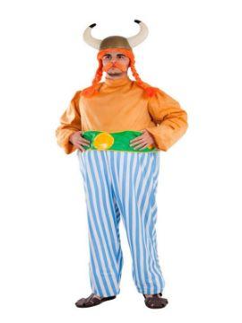 disfraz de galo obelix para hombre