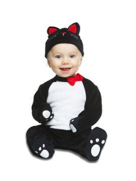 disfraz de gatito negro para bebe