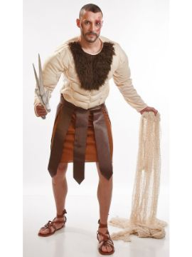 disfraz de gladiador o guerrero hombre