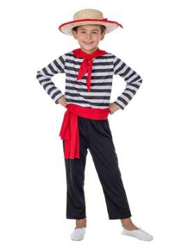 disfraz de gondolero veneciano niño