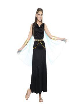 disfraz de griega negra mujer