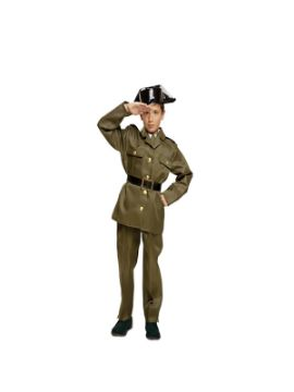 disfraz de guardia civil niño