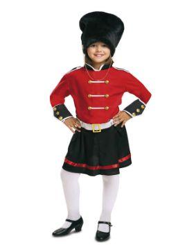 disfraz de guardia inglesa niña