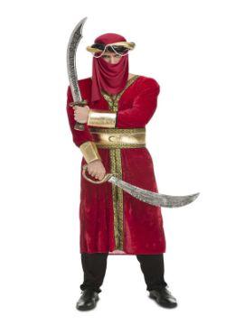 disfraz de guerrero arabe para hombre