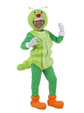 disfraz de gusano divertido para niño