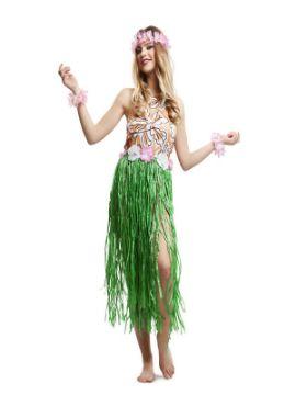 disfraz de hawaiana para mujer