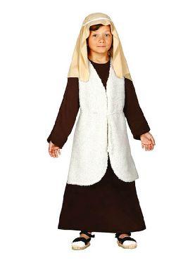 disfraz de hebreo marron para niño