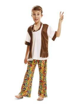 disfraz de hippie barato para niño